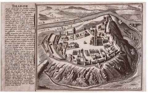 Tábor on the beginning of the 17th century