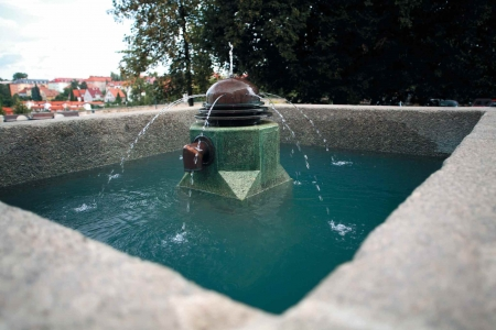 Fountain on Tržní square